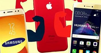 Smartphone Samsung, Huawei hay iPhone có tốc độ LTE nhanh nhất?