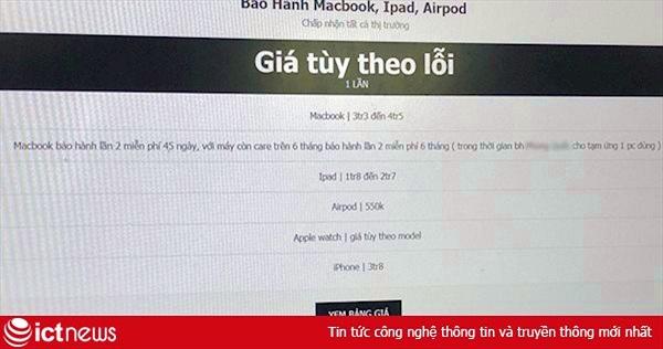 Apple đổi chính sách, dịch vụ 'bảo hành hộ' hàng xách tay nở rộ tại VN