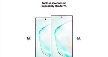 Galaxy Note10 lộ hàng loạt tính năng trước giờ ra mắt