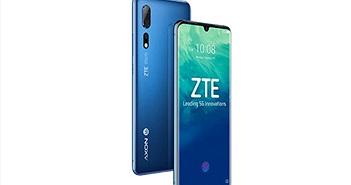 ZTE ra mắt điện thoại di động 5G đầu tiên ở Trung Quốc