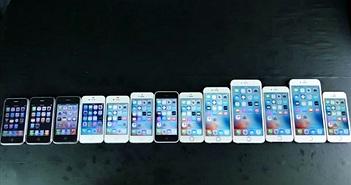"""Nhìn lại lịch sử """"tiến hóa"""" của các đời iPhone trước giờ ra mắt iPhone 7"""