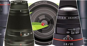 Tổng hợp các ống kính macro của các hãng, tìm hiểu chọn đúng loại khi đi mua