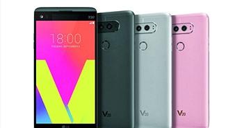 LG V20 chính thức ra mắt, trọng lượng nhẹ, camera kép