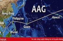 Internet Việt Nam đi quốc tế trên cáp quang biển AAG bị ảnh hưởng đến ngày 11/9