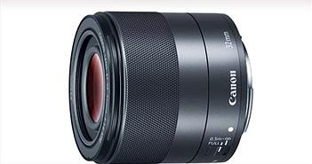 Canon ra mắt ống kính khẩu độ lớn nhất dành cho hệ thống EF-M mang tên 32mm f1.4 STM