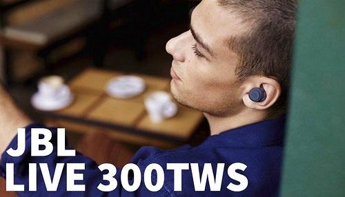 JBL Live 300TWS – Có chống ồn, lần đầu tiên tích hợp tối ưu âm thanh cá nhân
