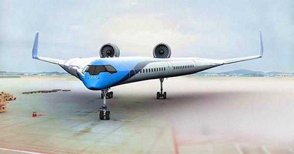 Mô hình máy bay hình chữ V lần đầu bay thử nghiệm