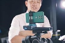 Xuất hiện clip trên tay Vsmart Aris Pro: camera ẩn dưới màn hình, tháng 10 lên kệ