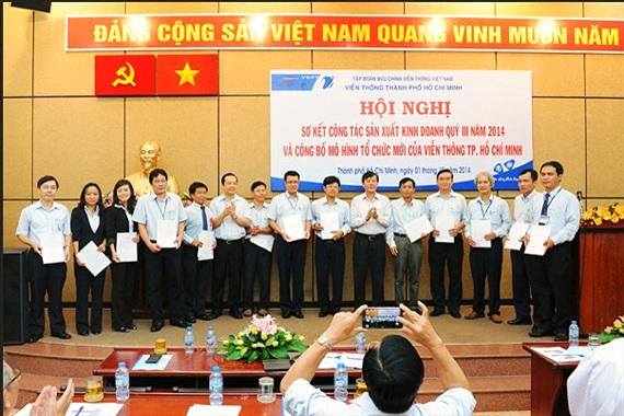 VNPT TP.HCM công bố mô hình tổ chức mới giai đoạn 2