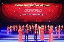 Digiworld được vinh danh trong top 100 Sao Vàng Đất Việt