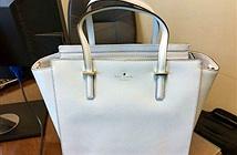 Chiếc túi này có màu trắng hay xanh?