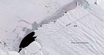 Tảng băng to bằng thủ đô nước Mỹ vừa tách khỏi Nam Cực