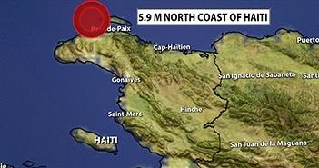 Động đất 5,9 độ ở Haiti, ít nhất 7 người chết