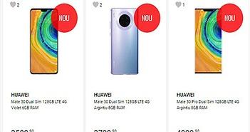 Huawei Mate 30 và Pro bất ngờ được bán ra tại Châu Âu