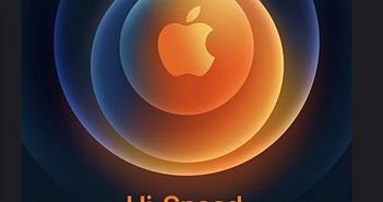 """iPhone 12 sẽ ra mắt vào ngày 13/10 trong sự kiện """"Hi, Speed"""""""