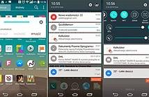 LG úp mở giao diện Lollipop trên smartphone hàng đỉnh G3