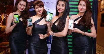 Lenovo trình lànghai smartphone Vibe P1 và P1m