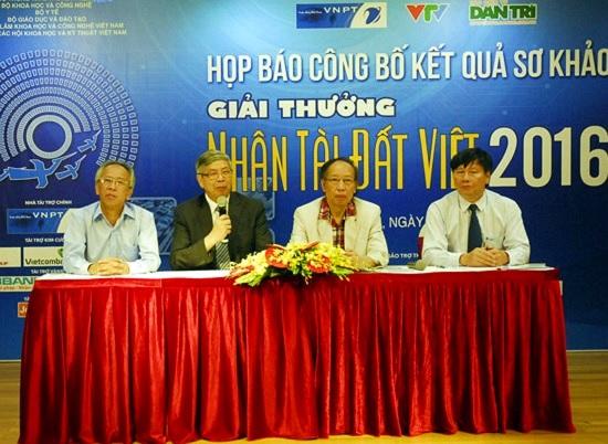 Điểm mặt 20 sản phẩm CNTT vào Chung khảo Nhân tài Đất Việt 2016