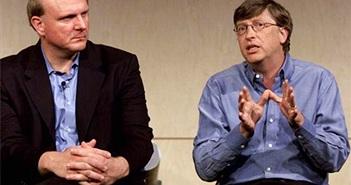 Steve Ballmer tiết lộ lý do bất hòa với Bill Gates