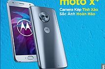 Moto X4: smartphone camera kép, chống nước, giá 9,99 triệu đồng