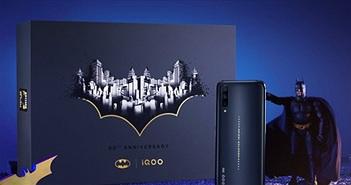 """""""Phát sốt"""" với phiên bản Vivo iQOO Pro 5G Batman"""