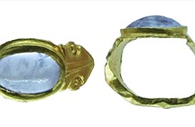 Nhẫn vàng đính thạch anh tím 1.600 năm tuổi