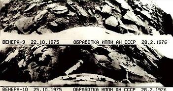 Những hình ảnh bề mặt sao Kim đầu tiên từ hành trình lịch sử Venera