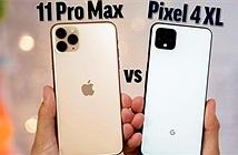 iPhone 11 Pro Max khiến Pixel 4 XL muối mặt trong bài kiểm tra tốc độ