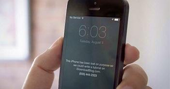 Những việc phải làm ngay lập tức khi mất iPhone