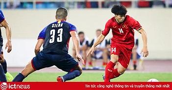 Công Phượng đi bóng đúng một kiểu, Philippines vẫn phải nhận bàn thua
