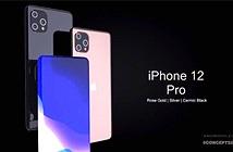 Mẫu iPhone 12 Pro đẹp không tưởng, camera selfie ẩn dưới màn hình