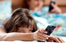 Trẻ ngủ kém khi trong phòng có tivi, đồ điện tử