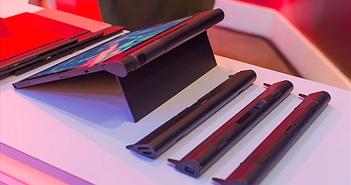 [CES 2016] Trên tay ThinkPad X1 Tablet: có thể gắn thêm module máy chiếu, pin, camera 3D...