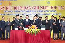 PTIT, VNNIC và Viện CNTT bắt tay đưa nghiên cứu vào ứng dụng thực tiễn