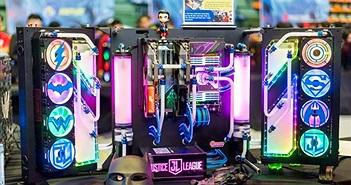 Ngắm nhìn bộ máy tính khủng lấy cảm hứng từ siêu anh hùng Justice League