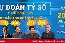 Bình luận viên nổi tiếng dự đoán tỷ số trận Việt Nam – Iraq tối nay: Việt Nam sẽ có điểm