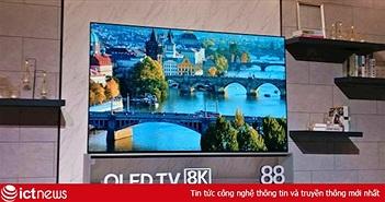 LG ra mắt tivi OLED 8K 88 inch lớn nhất thế giới tại CES 2019