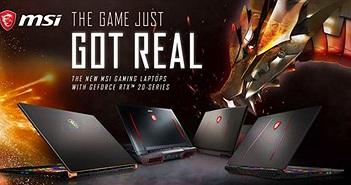 MSI ra mắt laptop GS75 Stealth mới và cập nhật toàn bộ dòng laptop 2019 với Nvidia GFORCE RTX