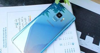 Xem Galaxy S9 Xanh Băng Giá vừa về Việt Nam giá 12,8 triệu đồng
