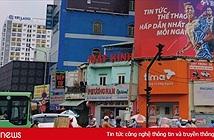 Web cá độ bóng đá quảng cáo trên đường phố TP.HCM