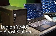 Lenovo trình làng laptop chơi game Legion Y740S chỉ nặng 1,9kg