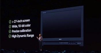 Apple quá ảo tưởng khi so sánh Pro Display XDR với các màn hình tham chiếu 40.000 USD