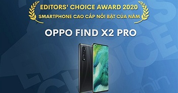 Editors' Choice Awards 2020: Smartphone cao cấp nổi bật năm 2020 - OPPO Find X2 Pro