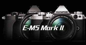 Olympus E-M5 Mark II: cảm biến 16MP tạo file ảnh 40MP