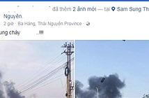 Hỏa hoạn ở nhà máy Samsung Thái Nguyên