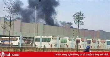 Samsung Việt Nam: Vụ cháy tại nhà máy Thái Nguyên không gây ảnh hưởng về người