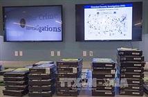 Mỹ công bố triệt phá một đường dây tội phạm mạng toàn cầu