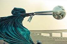 Những tác phẩm điêu khắc ảo diệu khiến bạn ngỡ lực hấp dẫn không hề tồn tại