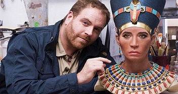 Gương mặt phục dựng của nữ hoàng tuyệt sắc Ai Cập gây tranh cãi