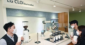 """Robot pha chế cà phê như một """"barista"""" thực thụ"""